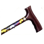 Adjustable Travel Folding Cane - Butterfly
