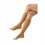 Sheer Knee High Open Toe 15-20 mmHg