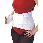 Lumbar Belt With Overlapping Strap