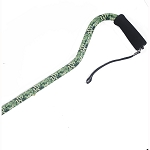 Offset Handle Aluminum Cane - Lite Camouflage